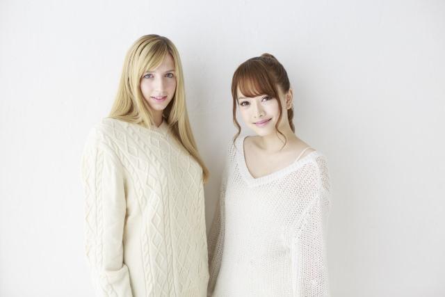 カウチサーフィンホスト用の写真(日本人女性と外国人女性)