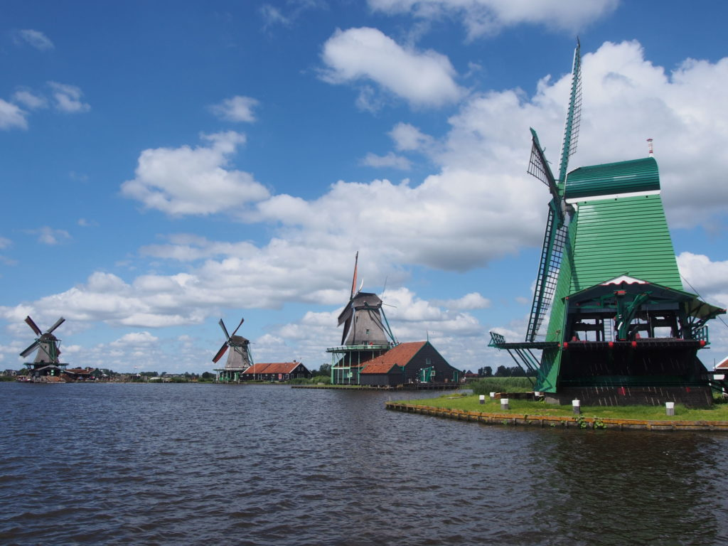 オランダザーンセスカンスの風車