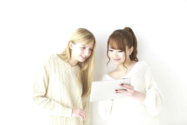 日本人と外国人の女友達