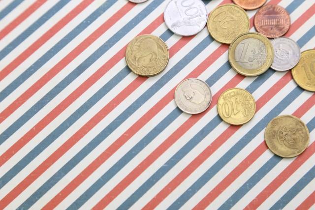 外貨コイン